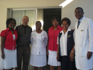 Dr. Chip Collins and colleagues from Swaziland
