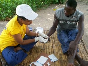 Bringing HIV testing home