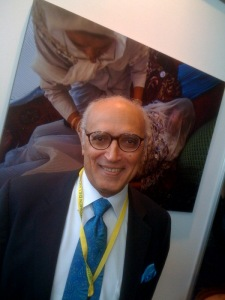 FIGO President Gamal Serour attends the Women Deliver Conference earlier this summer.