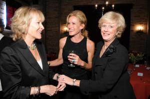 Ellen Hoberman, Cindy Broder and Dr. Leslie Mancuso.