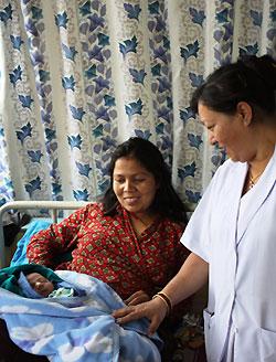 Nepal Midwife