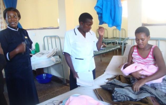 Rita Njiru, senior nursing supervisor at Embu Provincial General Hospital (left), has motivated staff to improve health services.