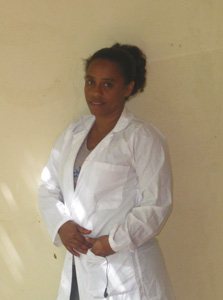 Midwife Meseret Gebre Michael has been a champion of quality maternal health care at her Ethiopia hospital since attending Jhpiego trainings on emergency obstetric and newborn care.