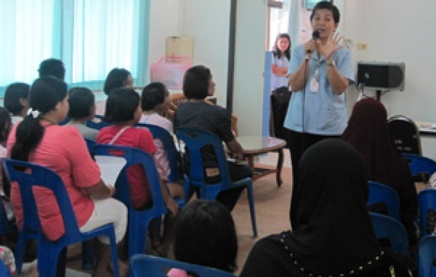 Jhpiego is working in Thailand to protect mothers and daughters from cervical cancer.