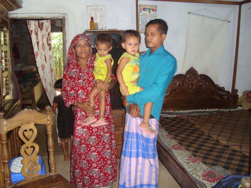 Laily Begum is among the Bangalesh women participating in the Healthy Fertility Study.