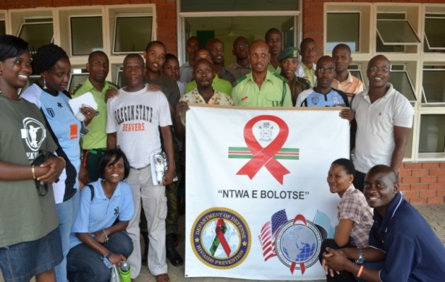 Jhpiego Helps Build Safe Male Circumcision Capacity in the Botswana Defense Force