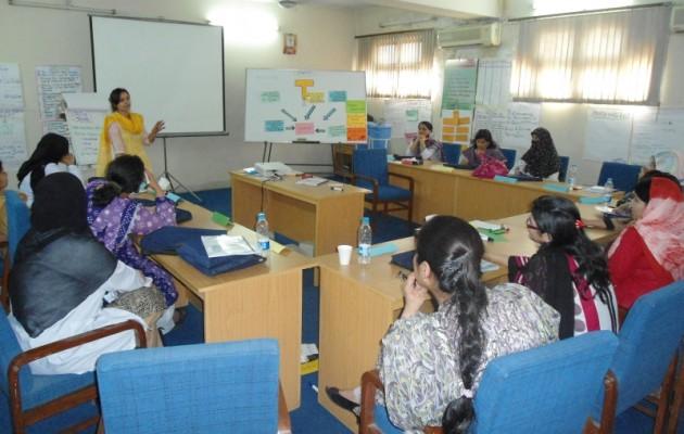 Training in Pakistan