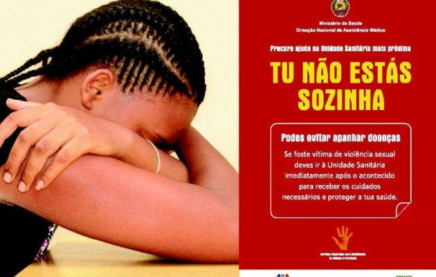 A public awareness campaign reminds victims of sexual violence that help is available and they are not alone.