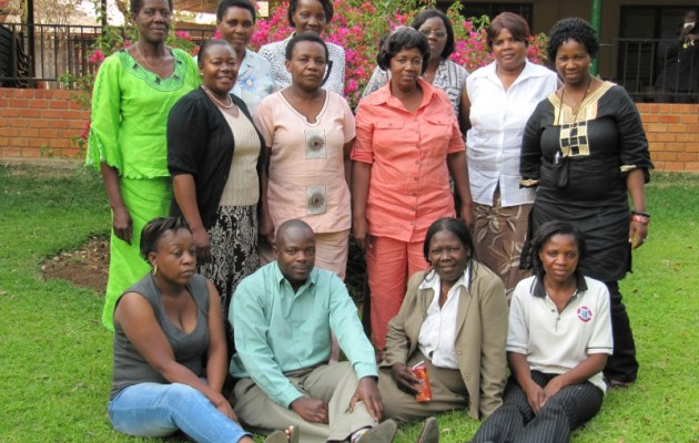 The founding members of the Midwives Association of Zambia meet for the first time.