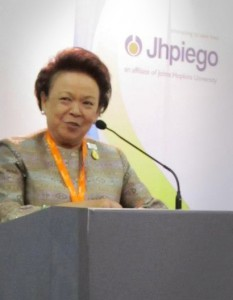 "Dr. Khunying Kobchitt ""Kobbie"" Limpaphayom shares her memories of working with Jhpiego on cervical cancer prevention."