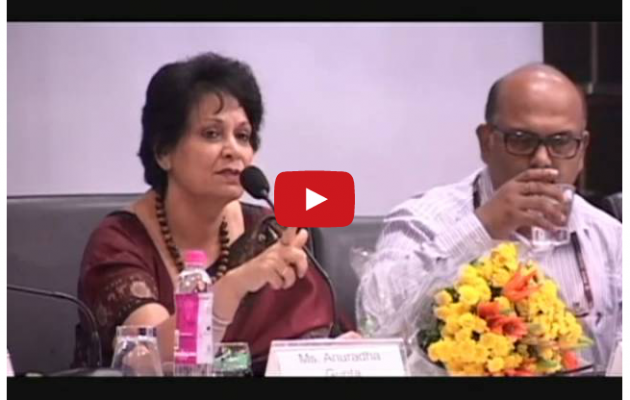 """I must single out Jhpiego for appreciation…"" Mrs. Anuradha Gupta"