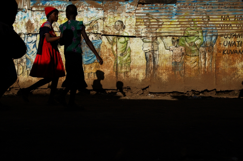 Kenya urban slums