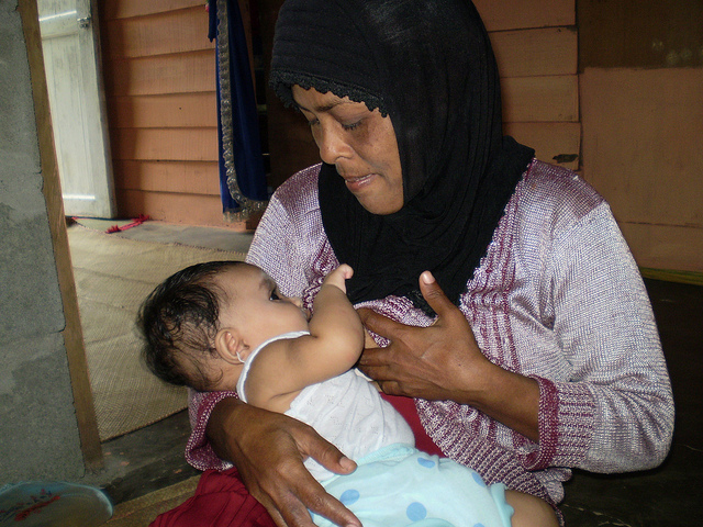 During illness, helps keep baby well hydrated