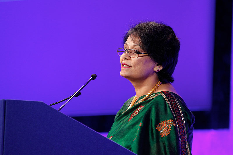Ms. Anuradha Gupta, Additional Secretary and Mission Director of the National Rural Health Mission
