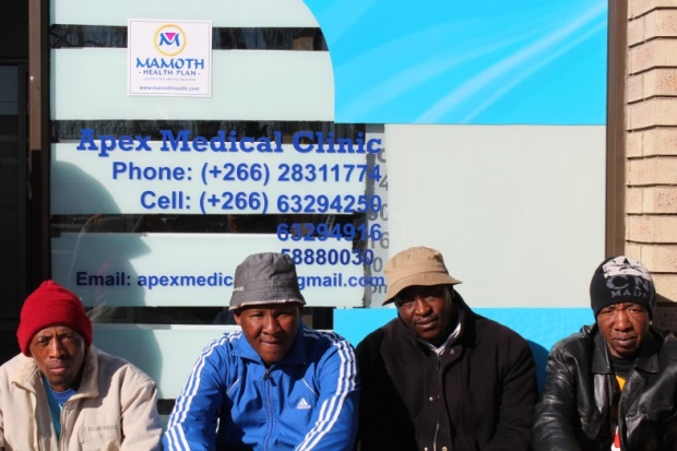 A nondescript clinic in an industrial area of Lesotho's capital is the perfect venue for older men to discreetly participate in HIV prevention services, including voluntary medical male circumcision.