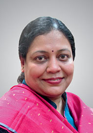 Saswati Das, MBBS, MCH Director, Clinical Services and Training (FP)
