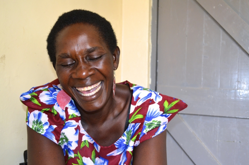 A health education talk persuaded Josephine Awour to get screened for cervical cancer and she is so glad she did.