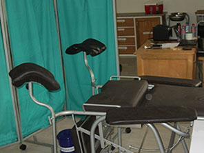Refurbished skills lab at Jirapa Midwifery Training School.