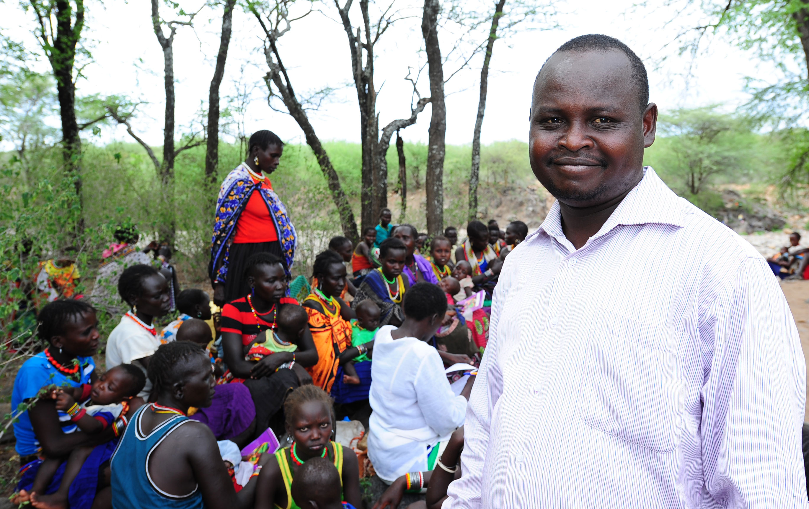 """""""The only way we can ensure that our people have access to health care is by bringing health services closer to them."""" –Johnston Koskei, assistant area chief"""