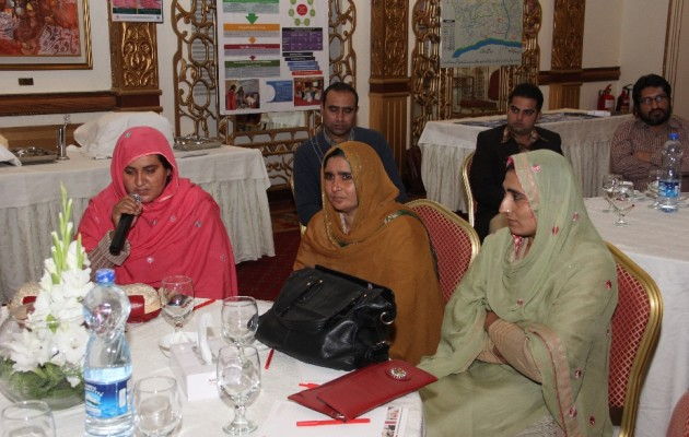 Riaz Bibi (left) is appreciative of the care she received.