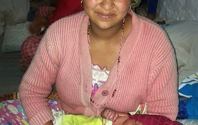 Dr. Kusum Thapa's first person account of helping mothers and newborns take shelter following the earthquake.