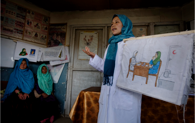 Jhpiego in Afghanistan. Photo by Kate Holt