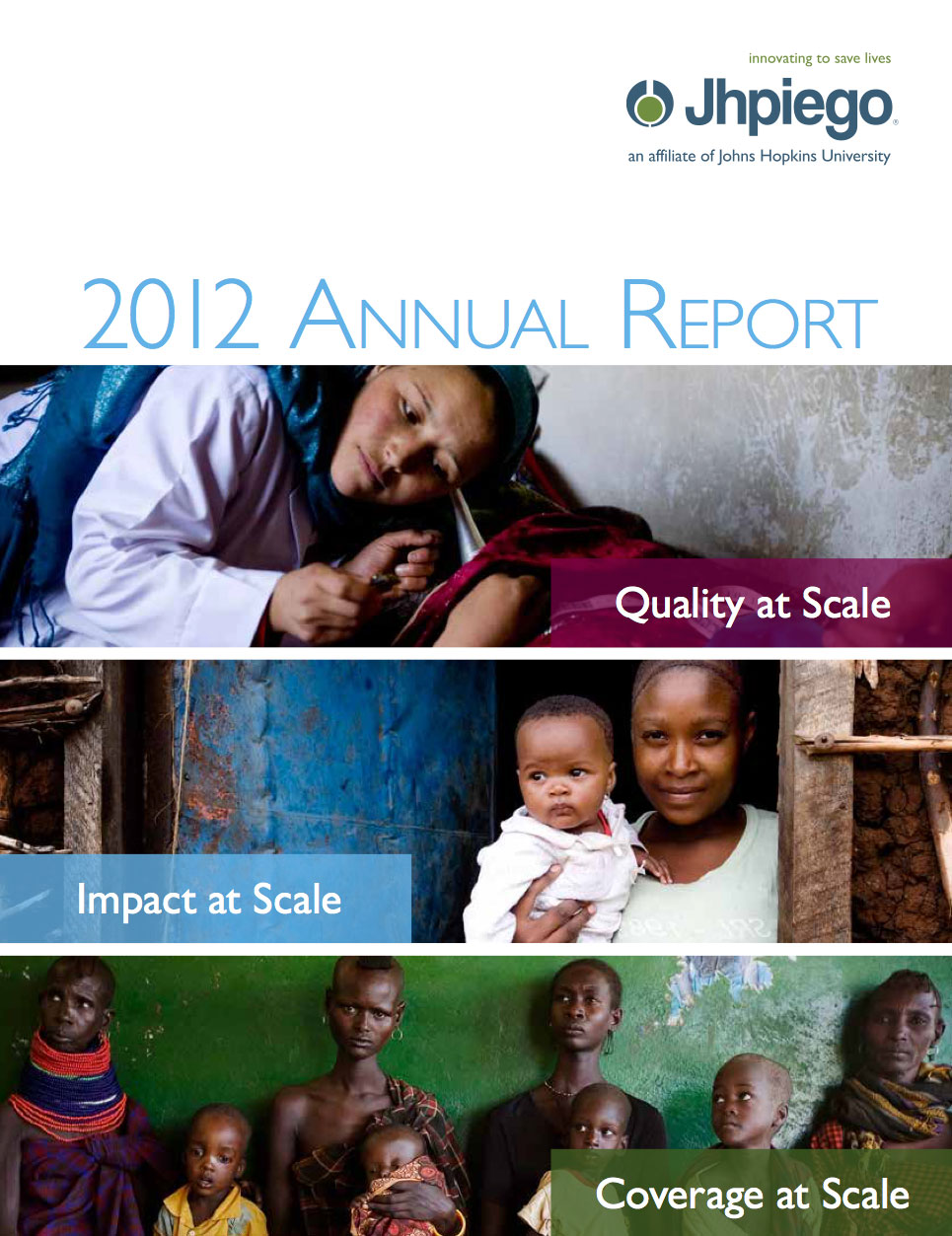 Jhpiego Annual Report 2012
