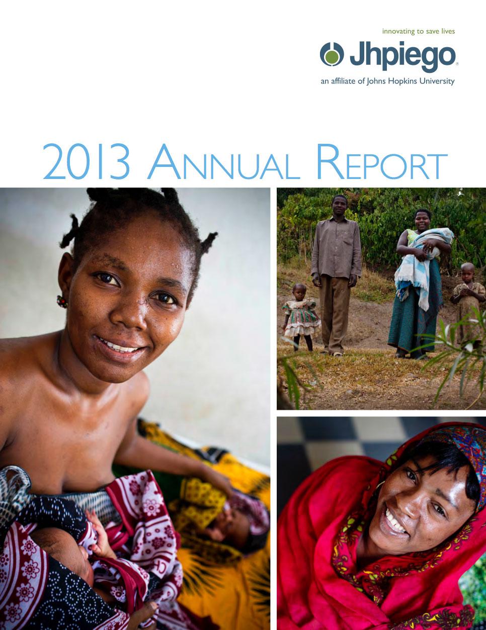 Jhpiego Annual Report 2013