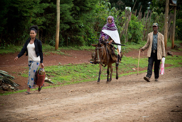 Many Ethiopian women have to rely on basic transportation to reach a health facility, delaying the care they need.