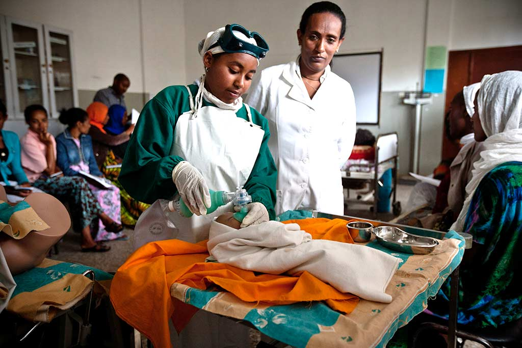 Ethiopia's efforts to retain women in the health workforce includes a focus on gender equity issues.