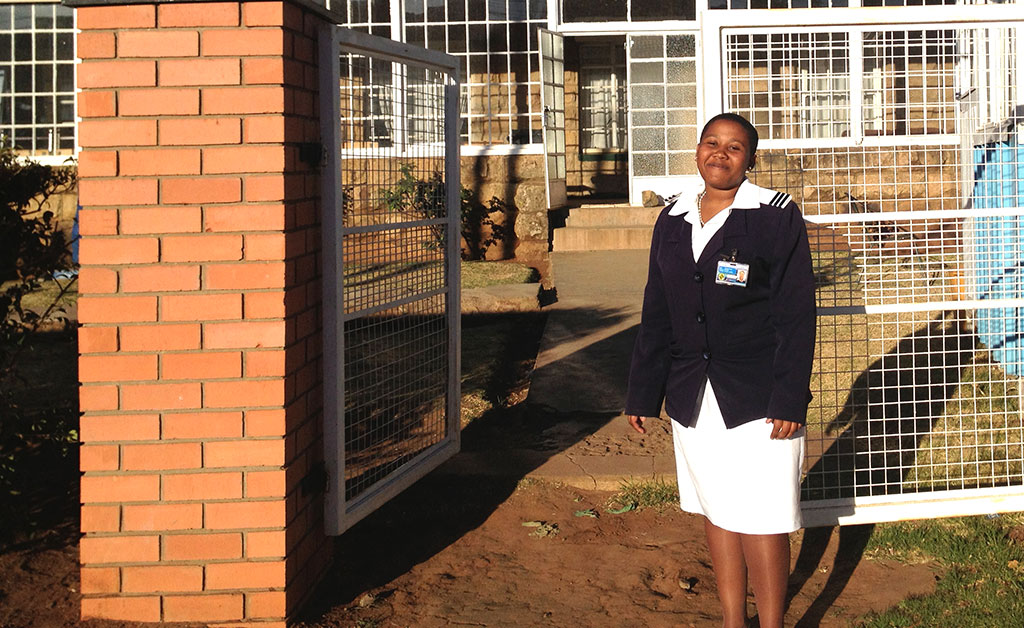 Tsepiso Jomane was just a child when her sick grandmother tried & failed to get care at a rural, understaffed clinic. Today she's a nurse in Lesotho, helping stem the shortages of quality health services in a rural community!