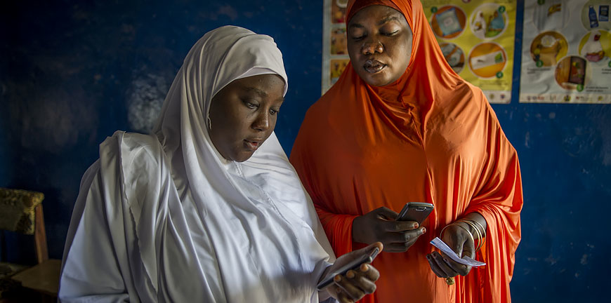 Jhpiego leverages mobile technology to improve the quality of care, affect health outcomes and empower people.