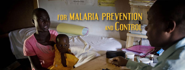 For Malaria Prevention and Control
