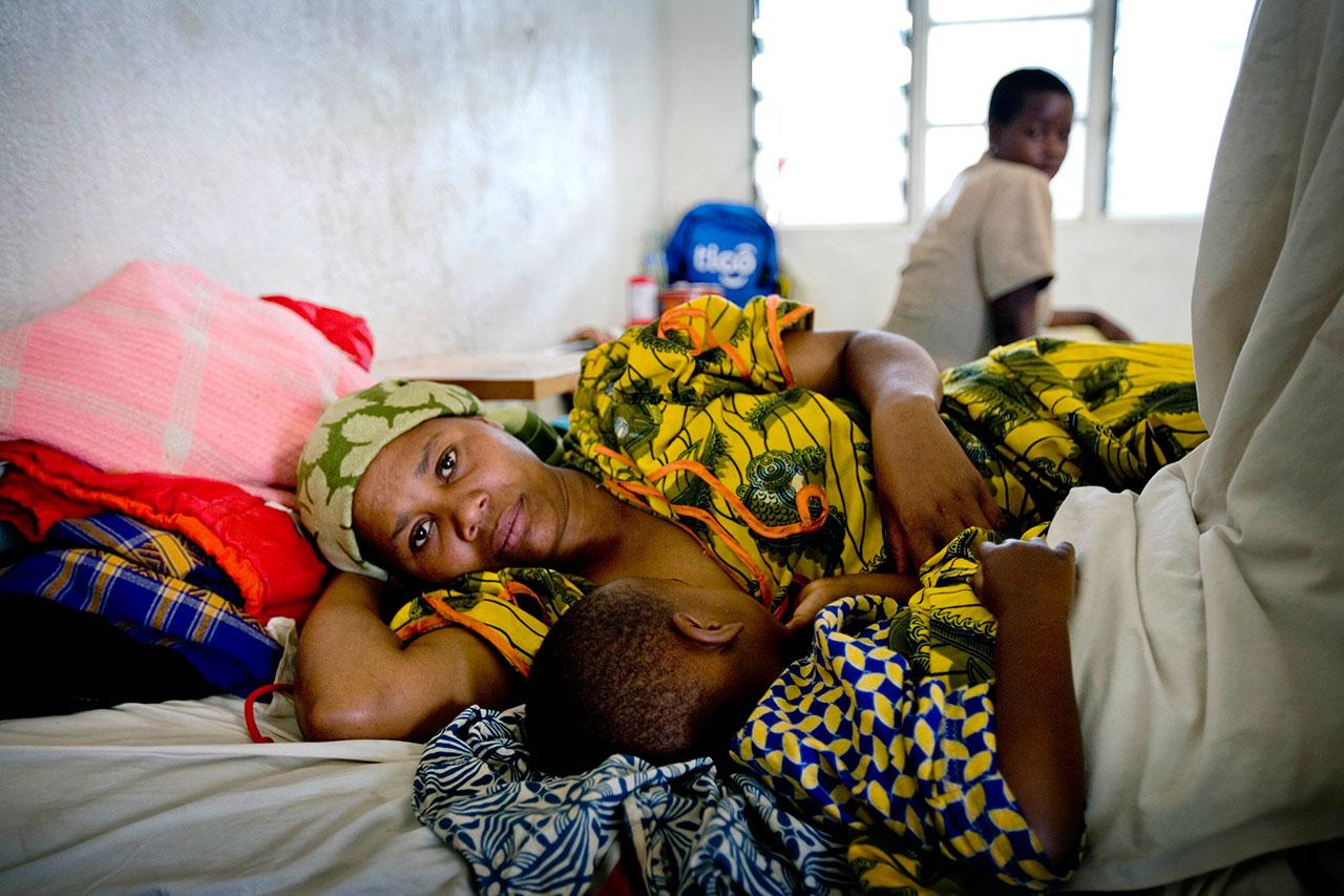 Rwanda Mom Baby