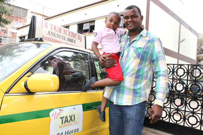 Maputo taxi driver EI Sabonete is among the half a million men and youth to receive voluntary medical male circumcision as part of the government's HIV prevention strategy to reduce transmission of the virus and save lives.