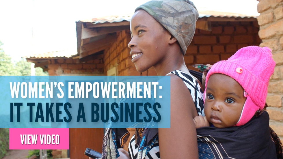 Women's Empowerment: It Takes a Business