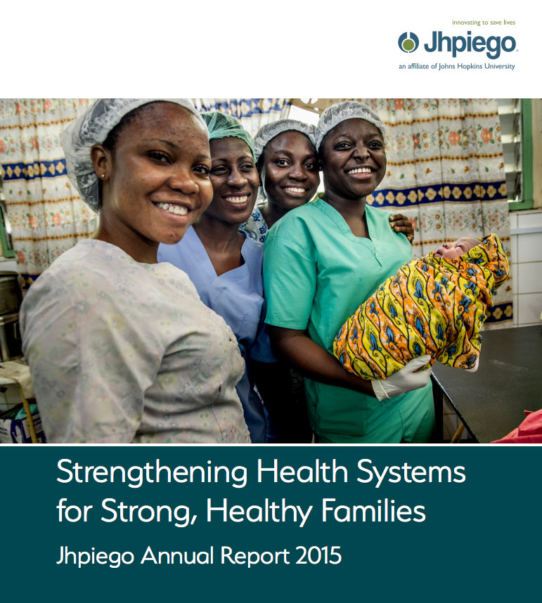 Jhpiego Annual Report 2015
