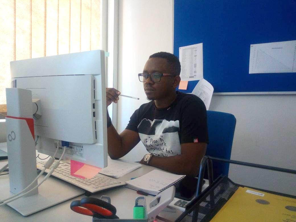 Kennedy Siyabu working