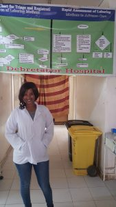 Midwives like Betelhem Wubet learn new skills.