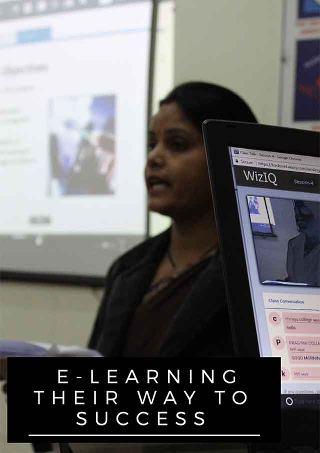 E-Learning Their Way to Success