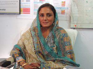 Community midwife Alia Jogi
