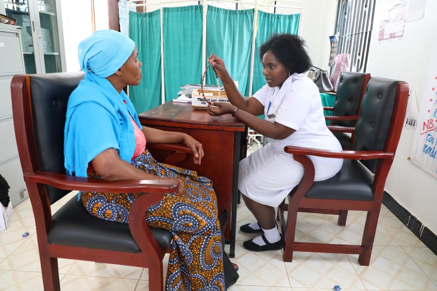 Nurses in Tanzania
