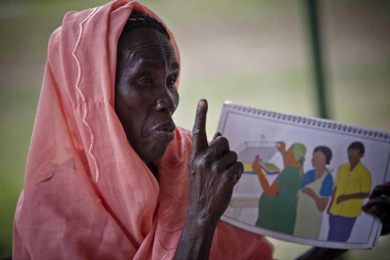 Community educator, Sudan