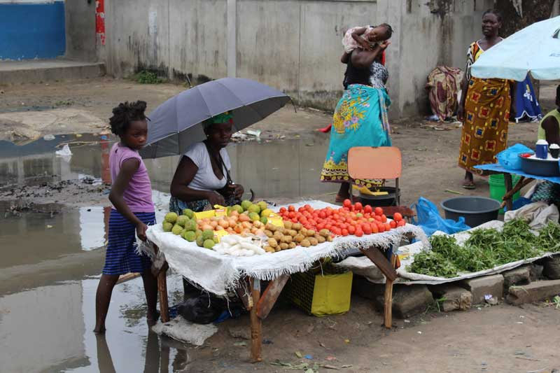 Market, Mozambique