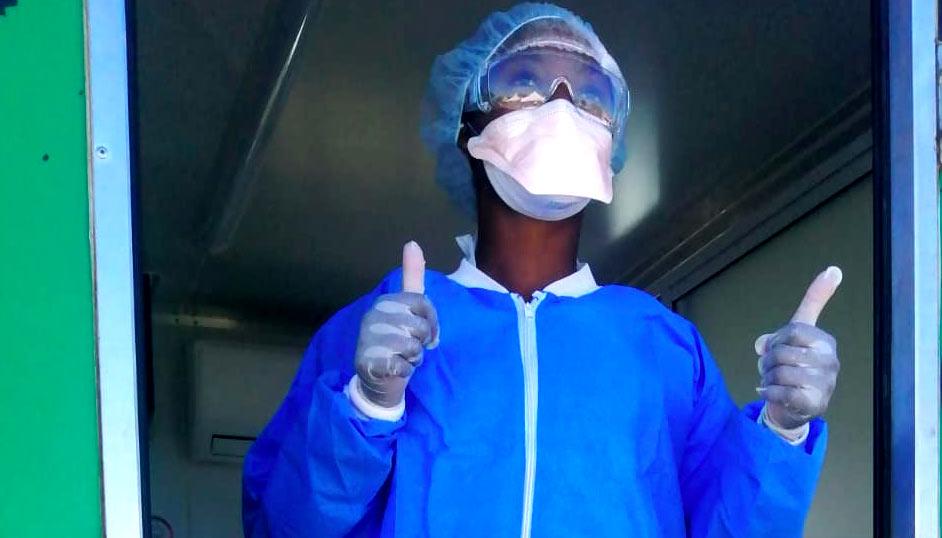 Nurse in South Africa