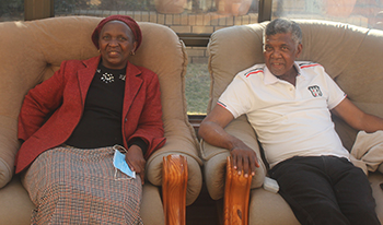 Couple in Lesotho