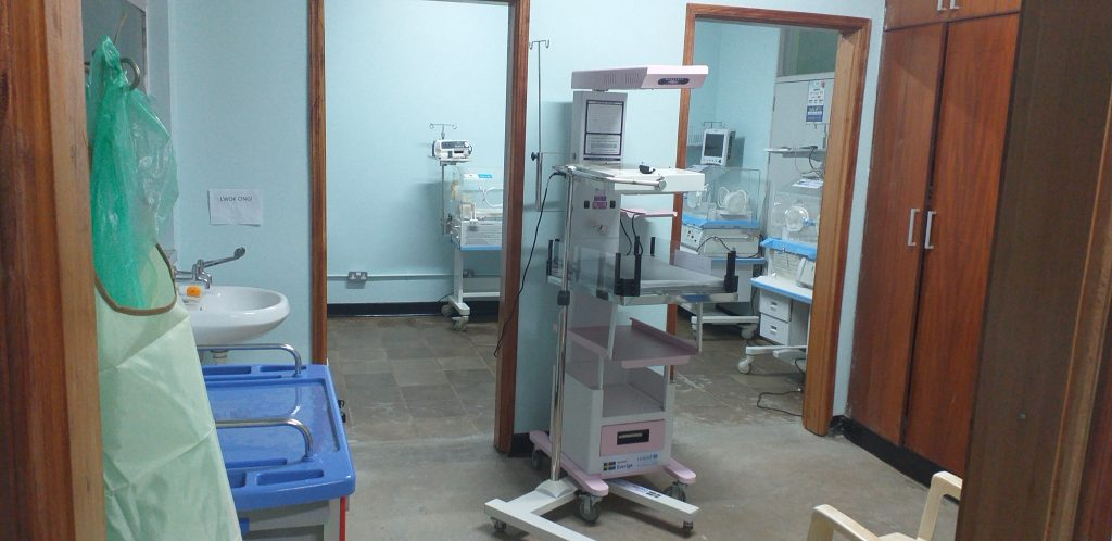 Renovated hospital in Uganda