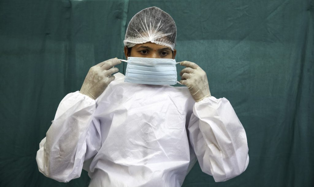 Nurse in India